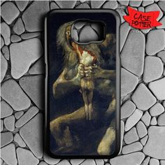Goya Saturn His Son Samsung Galaxy S7 Black Case