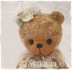 Teddy bear pattern Lina 5.5 inch Astridbears PDF by Astridbears