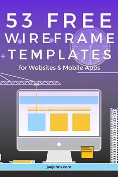 Are you in search of some best and free #WireframeTemplatesForWebsites and mobile apps that convey the information hierarchy of the layout? Click here. Best Free Website Templates, Best Templates, Wireframe Mockup, Web Design Tips, App Development, Mobile App, Apps, Layout, Search