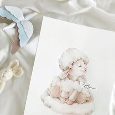 Prent bevat dalk: een of meer mense Amazing Drawings, Cute Drawings, Animal Drawings, Watercolor Drawing, Watercolor Animals, Watercolor Paintings, Baby Illustration, Watercolor Illustration, Art Wall Kids