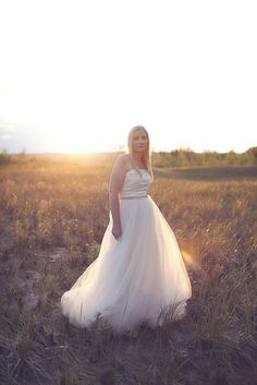 Bridal Bliss Designs Amsale Calista Replica Wedding Dress