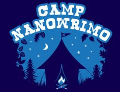 Camp NaNoWriMo - An idyllic writers retreat, smack-dab in the middle of your crazy life. National Novel Writing Month, National Poetry Month, Writing Programs, Writing Resources, Writing Advice, Teaching Writing, Writing Help, Teaching Ideas, Writing Challenge
