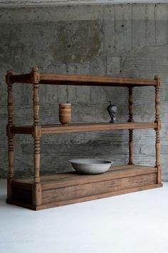 Rustic Bookshelf, Small Bookcase, Upcycled Furniture, Diy Furniture, Furniture Design, Cabinet Shelving, Cupboard Design, Wooden Decor, Furniture Inspiration
