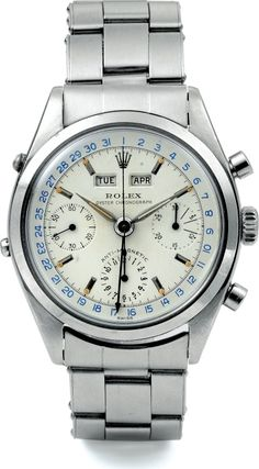 gentlementools:  Vintage Rolex Chronograph