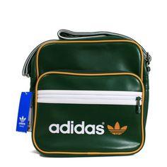 57560ade8cc2 Adidas Originals Bags Adidas Originals AC Sir Dark Green Bag W68812