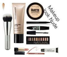 """Makeup look Nude"" by pandaprincess19 ❤ liked on Polyvore featuring косметика, Bare Escentuals, Maybelline, Le Métier de Beauté, Rimmel, Forever 21, Lancôme, Torrid и Sephora Collection"