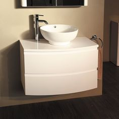 Boss 810 Wall Mounted Vanity Drawer Unit and Basin