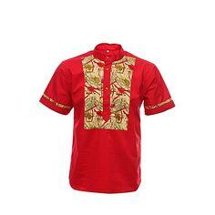 BF790FAAFBZJNAFAMZ Nigerian Men Fashion, African Print Fashion, African Fashion Dresses, Mens Fashion, African Shirts For Men, African Attire For Men, African Wear, Ankara Styles For Kids, Island Style Clothing