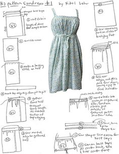 No-Pattern Sundress Tutorial...