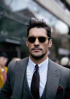 HQ - David Gandy at Day 3 of London Collections: MEN 2016   by Patrick Quinn Byrne