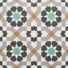 Tatli Geometric Decor Style 2 Tiles Harika Floor Tiles from Walls and Floors. Geometric Tiles, Geometric Decor, Geometric Patterns, Tile Patterns, Textures Patterns, Pattern Ideas, Ceramic Floor Tiles, Wall And Floor Tiles, Porcelain Floor