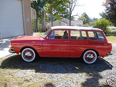 VW Squareback - Ryan and I had one of these very briefly when we first started dating! Too fun!
