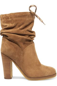 See by Chloé   Suede ankle boots   NET-A-PORTER.COM
