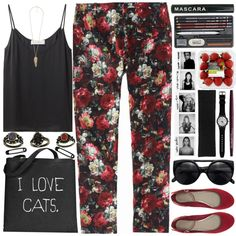 """I Love Cats"" by sarahkatewest on Polyvore"