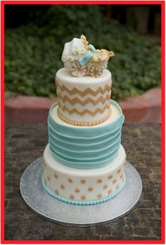 Baby Shower Gender Neutral Baby Shower Cakes Totally Worth The Effort Queen. White Gold Baby Shower Cake 1 The Daily Hostess. Baby Shower Sheet Cakes, Baby Shower Cakes Neutral, Baby Shower Gender Reveal, Baby Boy Shower, Baby Showers, Shower Pictures, Girly, Project Nursery, Pastries