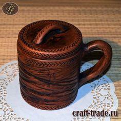 Керамический травник Зоревник - керамическая заварочная кружка с крышкой и ручкой купить -  керамика ручной работы, посуда из глины в интернет магазине Рукоделец