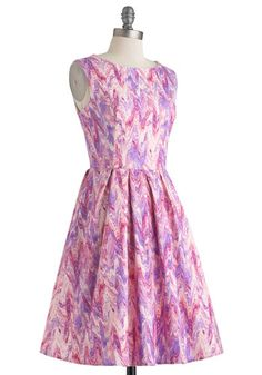 Chalk of the Town Dress, #ModCloth