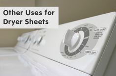 While dryer sheets are great for softening your clothes the job of dryer sheets doesn't just stop there. Here are some other uses for dryer sheets.