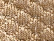 Seed Stitch Lattice.