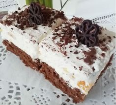 Jemné mandarínkove rezy s mascarpone (fotorecept) - recept | Varecha.sk Tiramisu, Food And Drink, Treats, Ethnic Recipes, Sweet, Anna, Hampers, Mascarpone, Sweet Like Candy