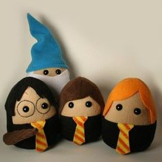 Potter Felties. These are cute! :)