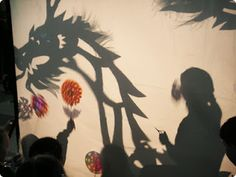 shadow dancing in the dark