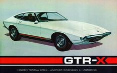 1970 Holden Torana GTR-X Concept Car