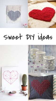 Ohoh Blog - diy and crafts: 5 DIY to try # Heart