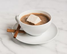 A little chocolate can do a lot of good. We're making this spiced hot chocolate part of our new holiday traditions for balanced blood sugar and a boost of energy...