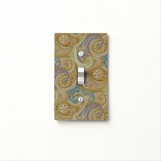 Wild Paisley 1 - Light Switch Cover