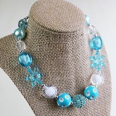 The Hair Bow Company Ice Princess Bead Necklace $7.99