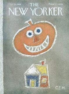 The New Yorker - Saturday, October 26, 1968 - Issue # 2280 - Vol. 44 - N° 36 - Cover by : Charles E. Martin