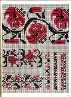 Hello all, Today I will address a type of embroidery which excites strong feelings among Ukrainians. Cross Stitch Borders, Cross Stitch Rose, Cross Stitch Samplers, Cross Stitch Flowers, Cross Stitch Charts, Cross Stitching, Cross Stitch Patterns, Rose Embroidery, Cross Stitch Embroidery