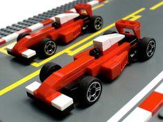 Tiny F1 cars win the LEGO Grand Prix http://www.brothers-brick.com/2016/05/20/tiny-f1-cars-win-the-lego-grand-prix/