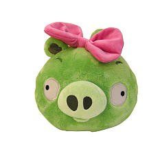 Really Fun product to make you giggle just Squeeze the top to hear authentic sounds from the game -> Angry Birds Plush 5-Inch Girl Piglet with Sound. Limited stock! #toys