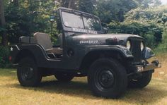 Dad's 1954 Willys M38A1