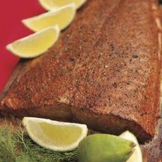 Cedar Plank Chipotle Salmon (I'm making this tonight!)
