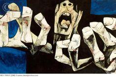 OSWALDO GUAYASAMIN-THE AGE OF ANGER