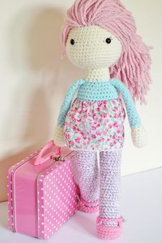 Crochet Amigurumi Doll PATTERN ONLY PDF Instant by KornflakeStew
