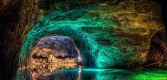 Unikátna jaskyňa Seegrotte z Troch mušketierov nájdete neďaleko Bratislavy - Akčné ženy Kiefer Sutherland, Waterfall, Outdoor, Outdoors, Waterfalls, Outdoor Games, The Great Outdoors