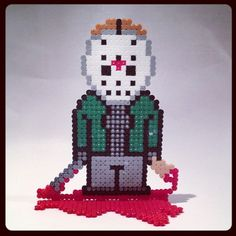 jason voorhees perler bead pattern - Google Search