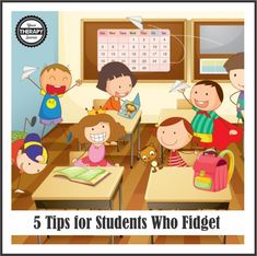5 tips for students who fidget - www.YourTherapySource.com