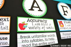 """Awesome Literacy Freebies (goes along with """"The sisters' CAFE)"""