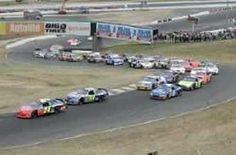 First NASCAR race at Sonoma....Infinion Raceway