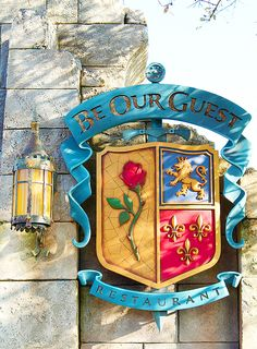 Be Our Guest Restaurant at Magic Kingdom in Disney World Disney World Trip, Disney Vacations, Disney Trips, Disney Pixar, Family Vacations, Cruise Vacation, Disney Cruise, Vacation Destinations, Family Travel