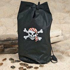 Non-Woven Pirate Loot Bag Backpacks (1 dozen) - Bulk [Toy] . $19.99