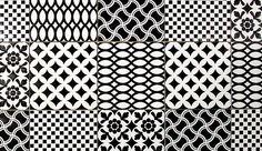 pavimento bianco e nero