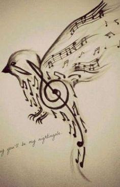 Tattoo ideas music notes symbols ideas for 2019 drawings Tattoo ideas music notes symbols ideas for 2019 Music Drawings, Pencil Art Drawings, Art Drawings Sketches, Tattoo Drawings, Tumblr Sketches, Cool Sketches, Bird Drawings, Music Note Symbol, Music Tattoos