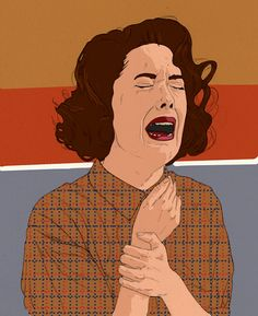Donna of Twin Peaks Print | by BotVintage on Etsy #twin_peaks #donna_hayward