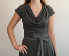 Grey Feminine Alice Dress from Alice in Wonderland ON by nowonder, $72.00